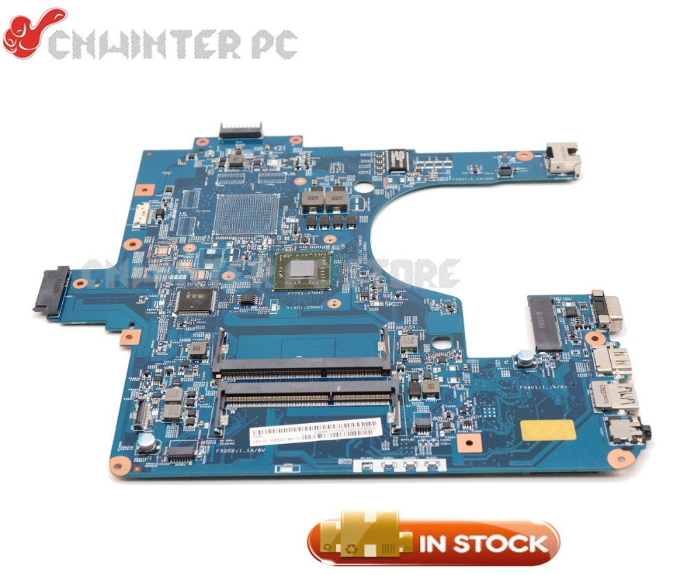 NOKOTION For Acer aspire E1-522 Laptop Motherboard DDR3 48.4ZK14.03M NBM811100N MAIN BOARD with Processor onboard laptop motherboard for aspire one 522 ao522 p0ve6 la 7072p mbsfh02001 amd c60 ddr3