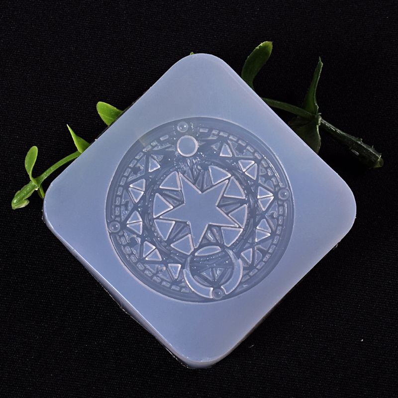 Magic Circle Silicone Mold Fondant Baking Tool Jewelry Chocolate Cake Decor Mold
