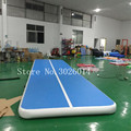 Бесплатная доставка  6x2 м надувной гимнастический коврик с помпой