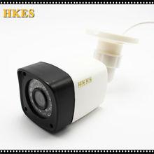 HKES CCTV Camera 800TVL/1200TVL IR Cut Filter leds Day/Night Vision Video Outdoor Waterproof IR Bullet Surveillance Camera