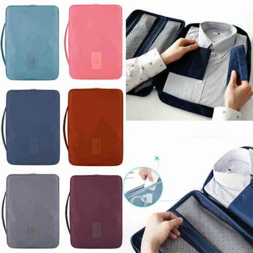 Для мужчин Путешествия Портативный рубашка костюм галстук Контейнер сумка багаж для деловых поездок случае