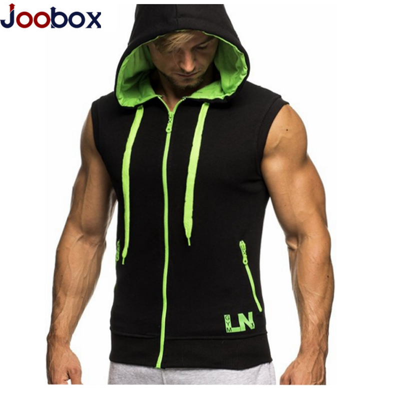 JOOBOX Bodybuilding Manches Sweat Shirts Fitness Hommes