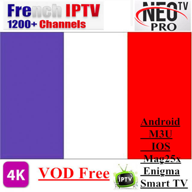 US $12 0 52% OFF|Neotv pro H 265 French IPTV subscription Arabic Europe  Belgium UK IPTV code Neo one year LiveTV VOD M3U MAG Android Smart TV  Box-in