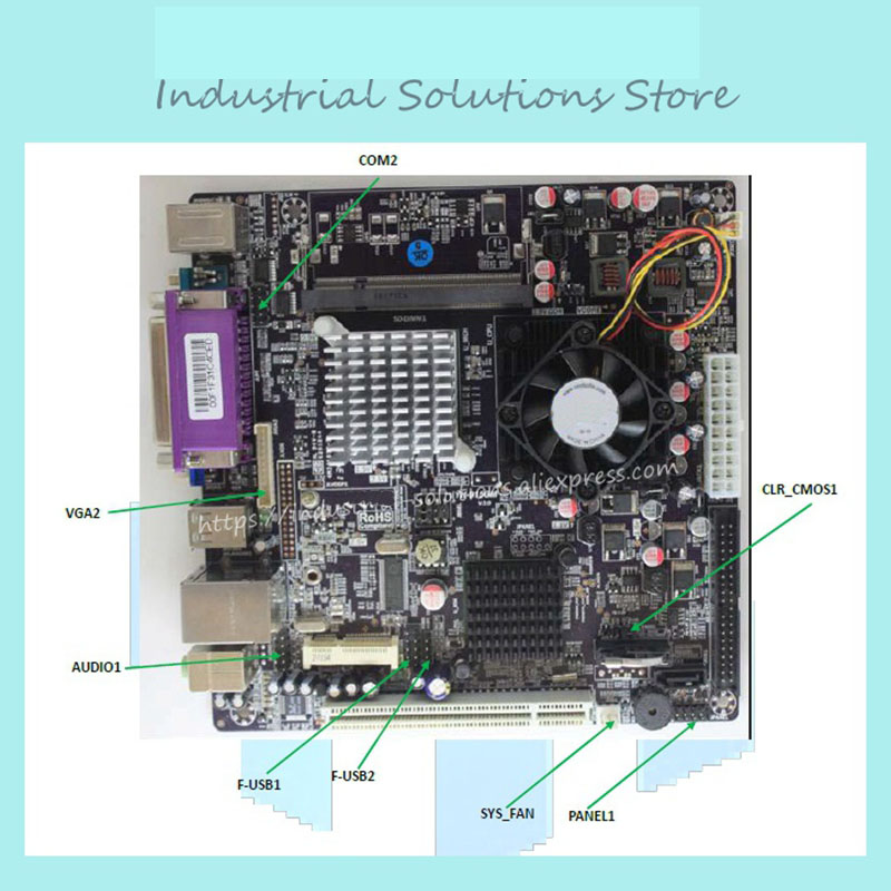 915GM MINI-ITX17*17 WITH M-SATA POS MOTHERBOARD 100% tested perfect quality купить