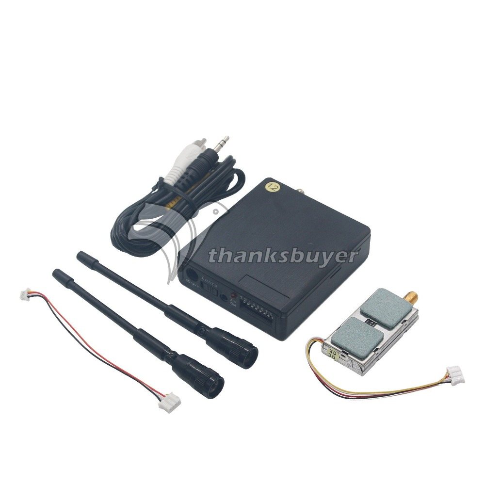 LawMate 1.2G 1000mw 1W 8CH Wireless Video Transmitter and Receiver Combo for FPV Aerial цена