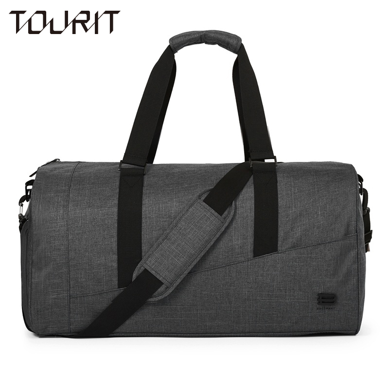 TOURIT New Travel Bag Large Capacity Men Hand Luggage Travel Duffle Bags Canvas Weekend Bags Multifunctional Travel Bags tuguan new travel bag large capacity men hand luggage travel duffle bags oxford fabric weekend bags backpack travel bags