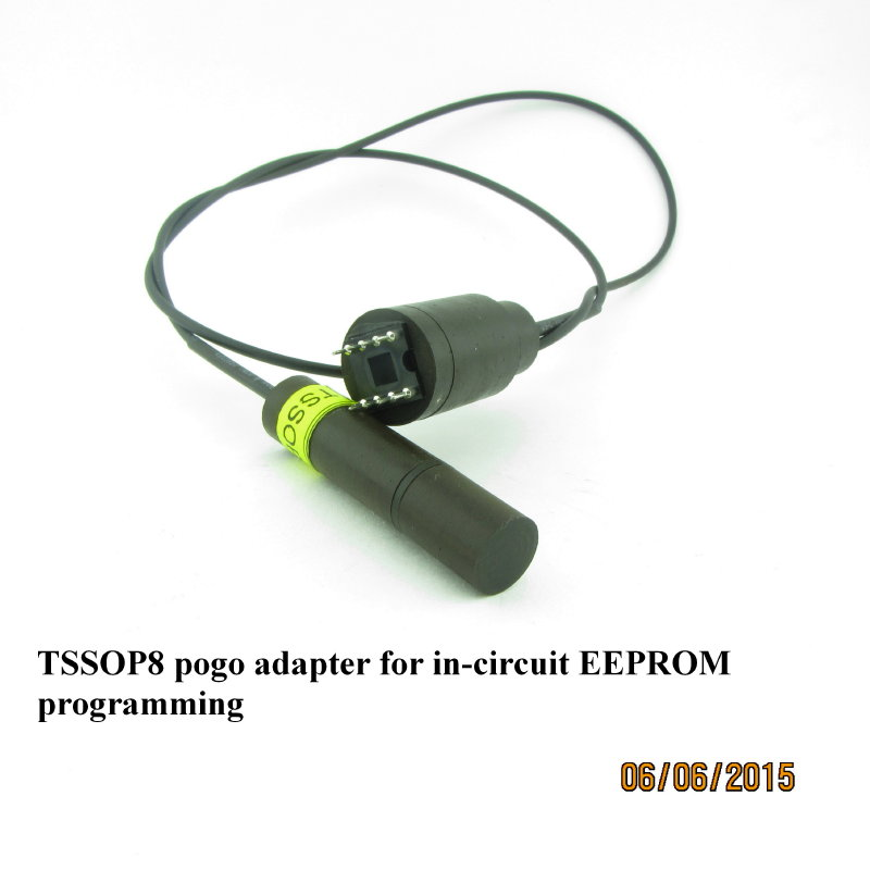 POGO pin Spring Loaded Adapter SOIC 8 EEPROM for Enigma Programmer