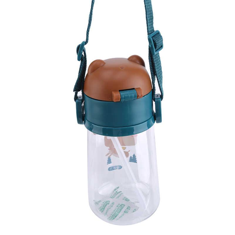 1 шт., новинка 500 мл, чашка для детей, для детей, для обучения, для детей, портативная, герметичная, противоскользящая, бутылка для воды, непромокаемая, Сиппи, чашка с ручкой