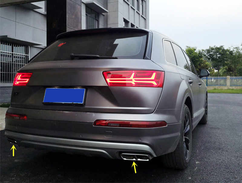 Detail Feedback Questions about Stainless Steel 2pcs Rear Tail