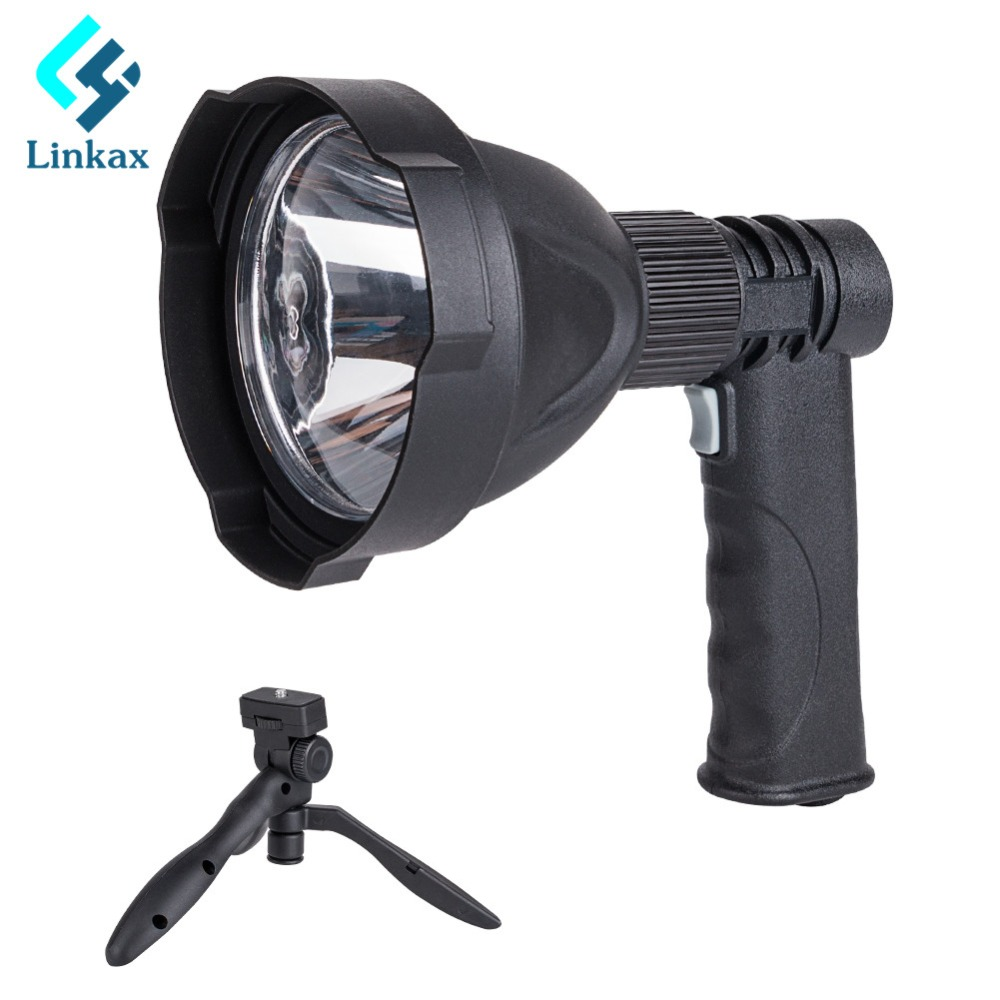 Usb Input/output Charging L2 Led Flashlight 6000lm Handheld Flash Light Lamp Torch Lantern With Stand Support Built In Battery Be Shrewd In Money Matters Lights & Lighting