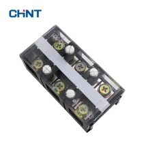 CHNT Will Electric Current Connection Terminal Row Plate Wire Connector TC-603 60A 3P