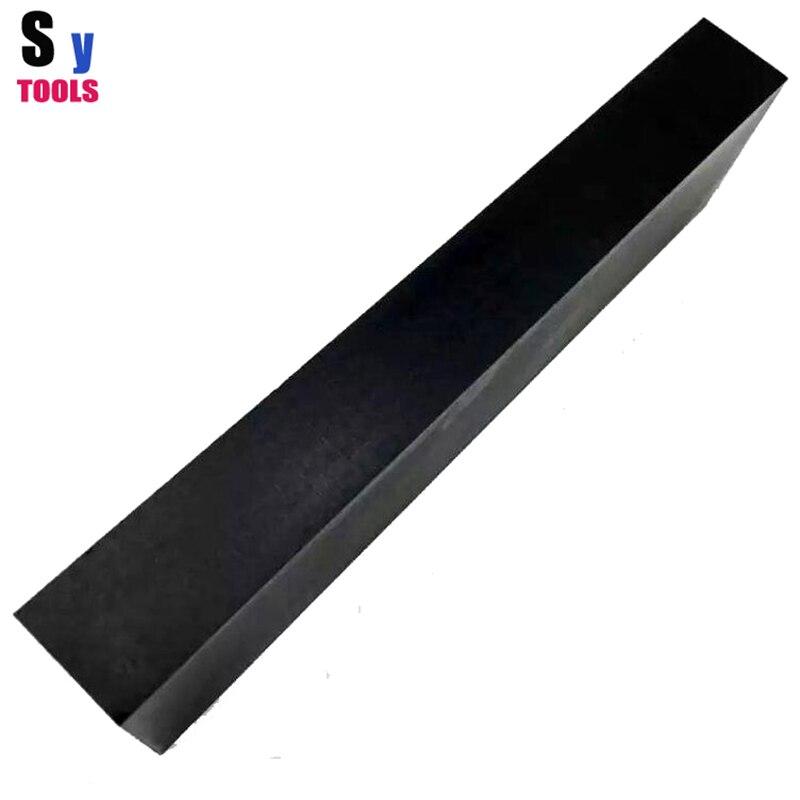 1500 # Grit noir ruby Huile Cuisine en plein air Couteau pierre à aiguiser beaux-pierre de Polissage 7.87*2*1 pouces