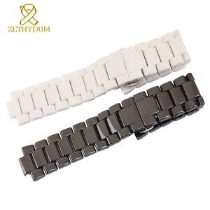Керамический ремешок для часов выпуклый рот 19 мм 22 мм ремешок для часов браслет для AR1429 AR1421 AR1425 AR1426 AR1456 AR1472 ремешок для часов