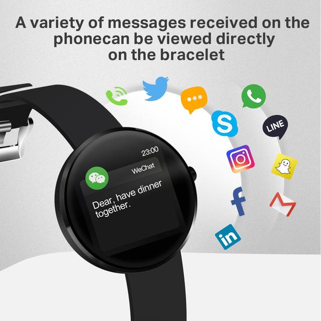 2019 New Smart Watch IP68 Waterproof Heart Rate Blood Pressure Monitoring LEMFO Smartwatch Fitness Tracker for Men Women