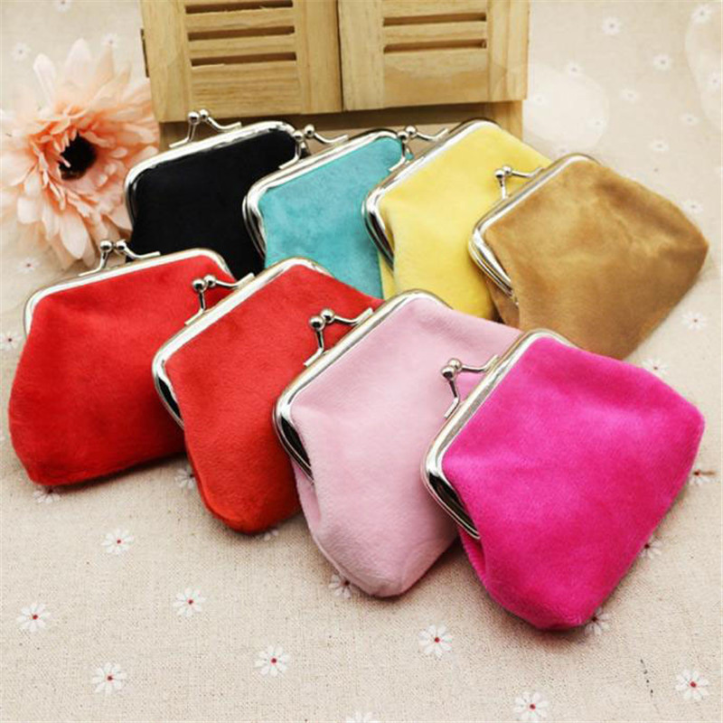 Hot Wallet Women Corduroy Coin Vintage Fashion Top Quality Small Wallet Leather Purse Female Money Bag Small Pocket Brand цена