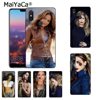 MaiYaCa Jennifer Lopez USA POP Star Sexy soft tpu Silicone phone case for xiaomi mi 8 se 6 note2 note3 redmi 5plus note4 5 Cover image