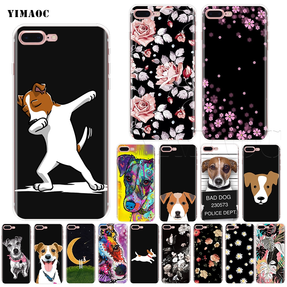 YIMAOC Jack Russell Terrier Soft Silicone Case For IPhone 11 Pro XS Max XR X 8 7 6 6S Plus 5 5s Se