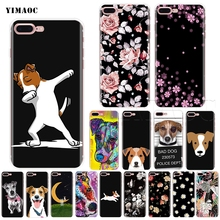 YIMAOC Jack Russell Terrier Soft Silicone Case for iPhone 11 Pro XS Max XR X 8 7 6 6S Plus 5 5s se webbedepp jack skellington silicone soft case for iphone 5 se 5s 6 6s plus 7 8 11 pro x xs max xr