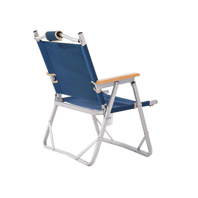 SUFEILE Outdoor Aluminum folding beach chair Aluminum Fishing Chair Portable Folding Beach Chair Outdoor Camping  D5