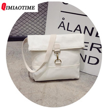 2018 New Japanese Soft Sister Literary Small Fresh Canvas Bag Messenger Bag Leisure Time Simple