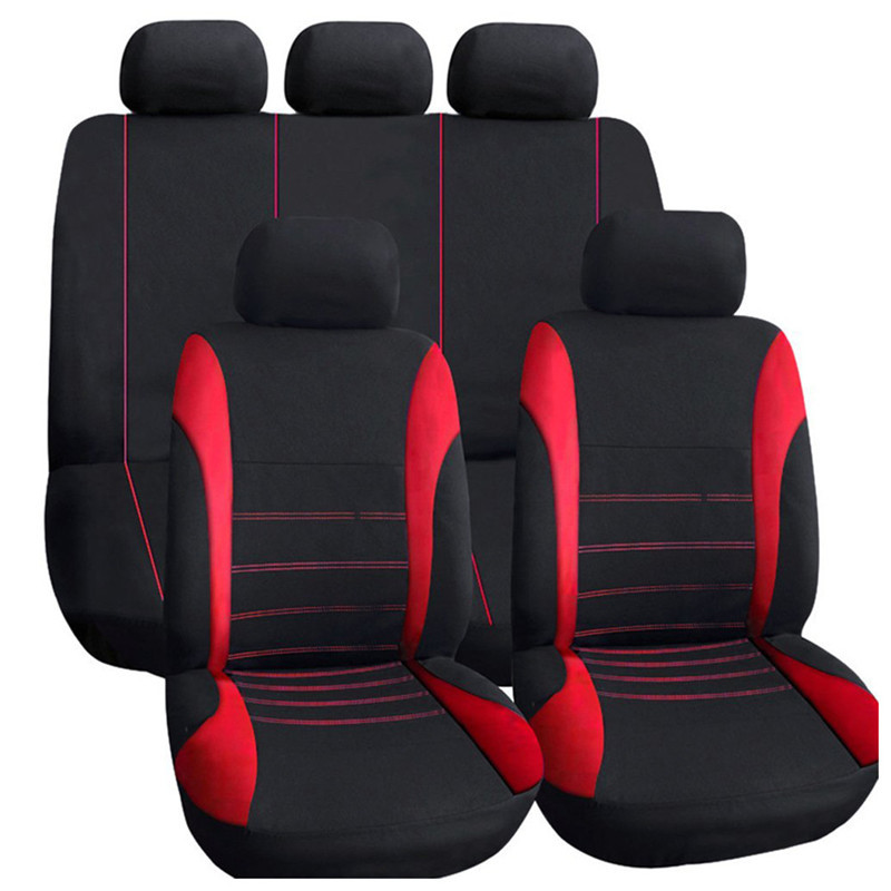 High Quality 9pcs/set Universal Set Full Seat Covers Car for Crossovers Sedans Auto Interior Styling Decoration Protect
