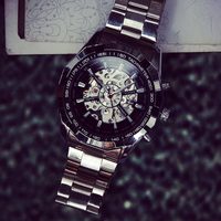 Cindiry 2017 Newest Men S Watches Casual Men Watch Mechanical Automatic Self Winding Hollow Engraving Relojes