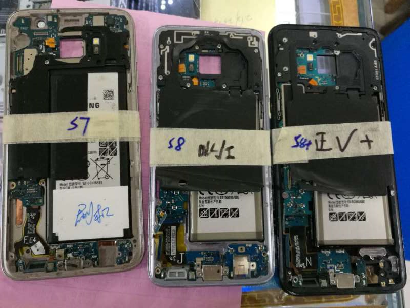 Écran lcd de carte mère de téléphone portable et testeur fonctionnel tactile pour Samsung galaxy S6 edge/s6 edge plus/S6/S7/Note 5
