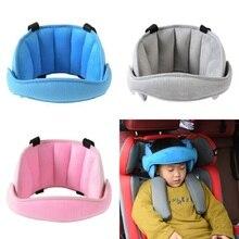 Baby Safety Stroller Car Seat Sleep Nap Sleeping Aid Head Band Support Holder Belt Accessories