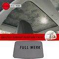 2 шт./компл.  сетчатый чехол для автомобиля с передней и задней крышей от солнца для Tesla Model 3 Skylight  аксессуары для экрана  магнитная установка