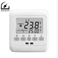 230V Temperature Controller Digital Temperatures Controller Floor Heating Controller Indoor Warm Thermoregulator