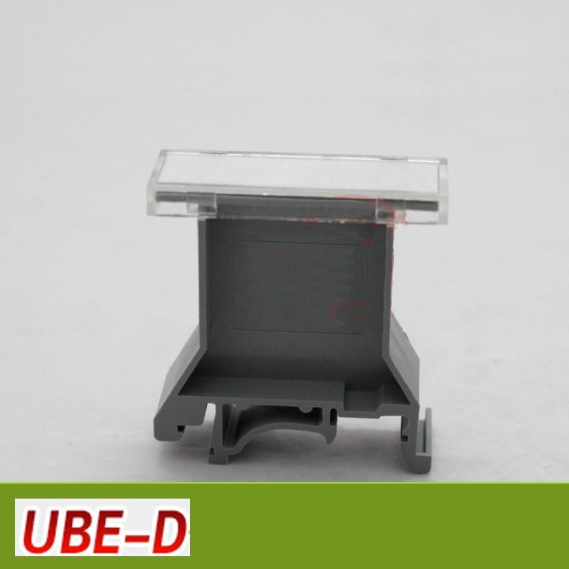 Ube / D тег перевозчик на din-рейку клеммные колодки аксессуары