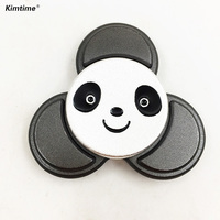 4 7 Minutes Panda Spiner Hand Fidget Spinner Metel Toy Finger Spinners For Autism And