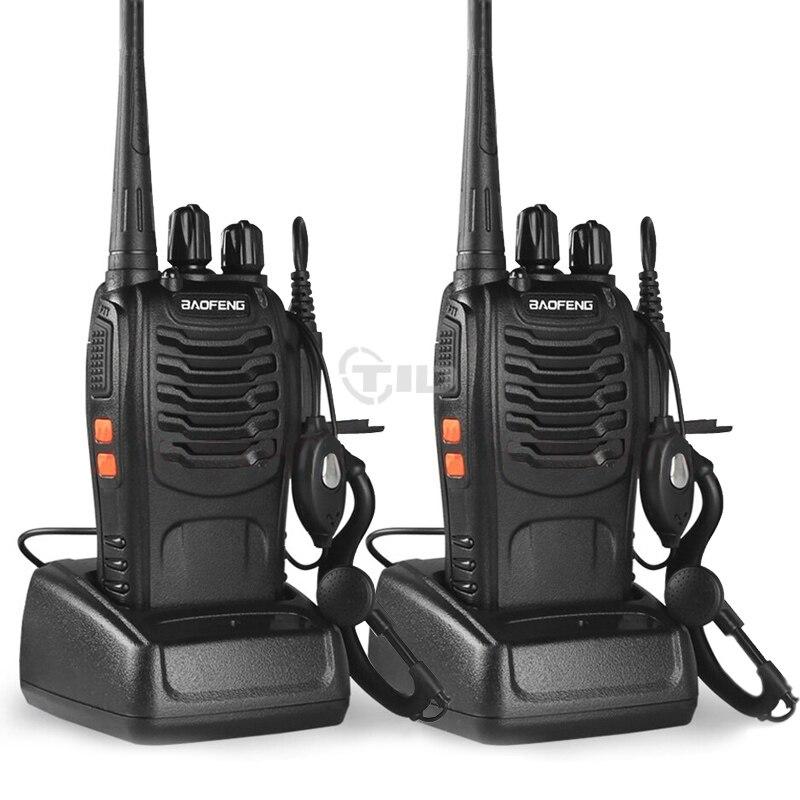 10st baofeng bf-888s Walkie Talkie 16CH UHF 400-470MHz skinkradio - Walkie talkie - Foto 2