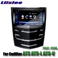 For Cadillac ATS ATS L ATS V 2012~2018 Liislee Car Multimedia Player NAVI Stereo Radio Maps GPS Navigation