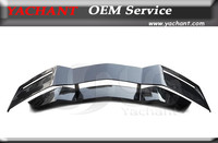 Accessories Car Styling Full Carbon Fiber GT Wing Fit For 2011 2014 Aventador LP700 4 BSE Style Rear Spoiler Wing