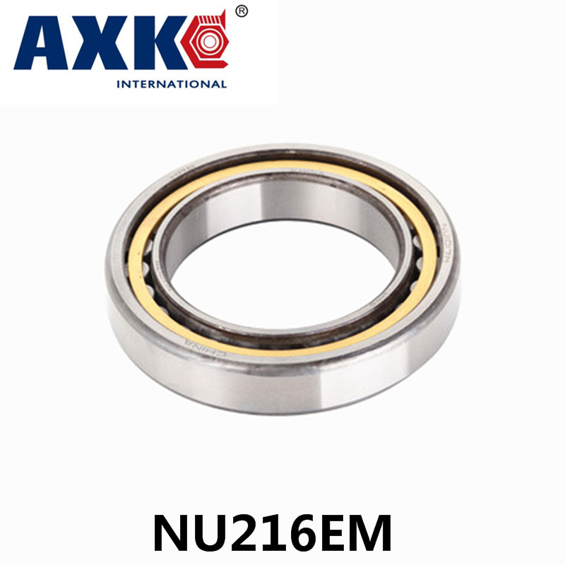Axk Bearing Nu216em Cylindrical Roller Bearing 80*140*26mm na4910 heavy duty needle roller bearing entity needle bearing with inner ring 4524910 size 50 72 22