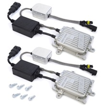 Safego 2 pcs Ballast 35W Xenon Canbus AC 12V Canbus Ballast 23KV Xenon H7 Canbus HID Ballast replacement for hid kit