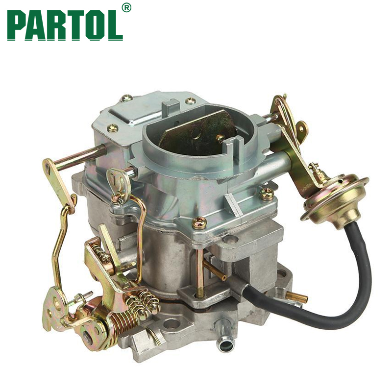 Partol Zinc Alloy Car Carburetor Carb for Plymouth Models for Dodge Truck 1966-1973 Engine Carter Carburetor Replacement black throttle base cover carburetor for honda trx350 atv carburetor trx 350 rancher 350es fe fmte tm carb 2000 2006