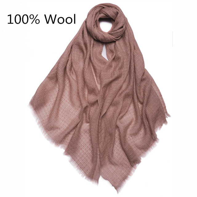 2017 Fashion Autumn Winter Brand Unique Honeycomb Technology  Wool Scarf Warm Multi Colors Shawl Women Soft Free Shipping