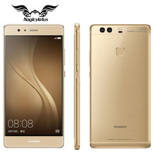 Original huawei p9 plus 4g lte teléfono móvil kirin 955 octa core 4 GB RAM 128 GB ROM 5.5 pulgadas Android 6.0 Dual SIM 12MP Huella Digital