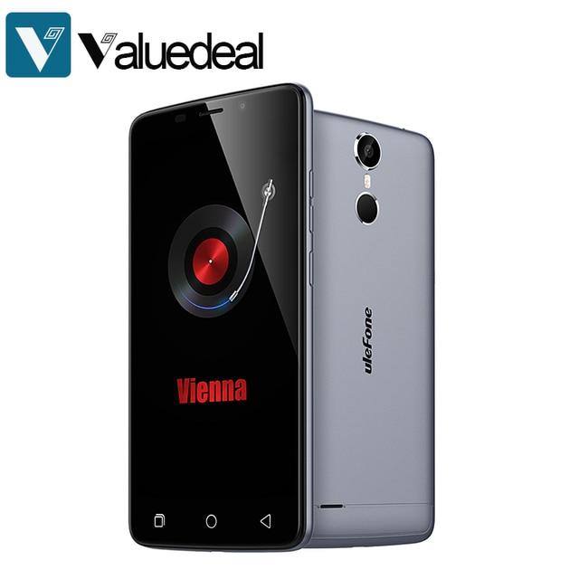 Original Ulefone Vienna HIFI MTK6753 Octa Core 5.5inch FHD 4G LTE Android 5.1 64-bit 3GB RAM 32GB ROM 13.0MP Touch ID Smartphone