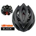 Ультра-светильник  велосипедные шлемы  дышащие в форме  интегрально велосипедные шлемы  матовый черный светильник  козырек  дорожные горные...