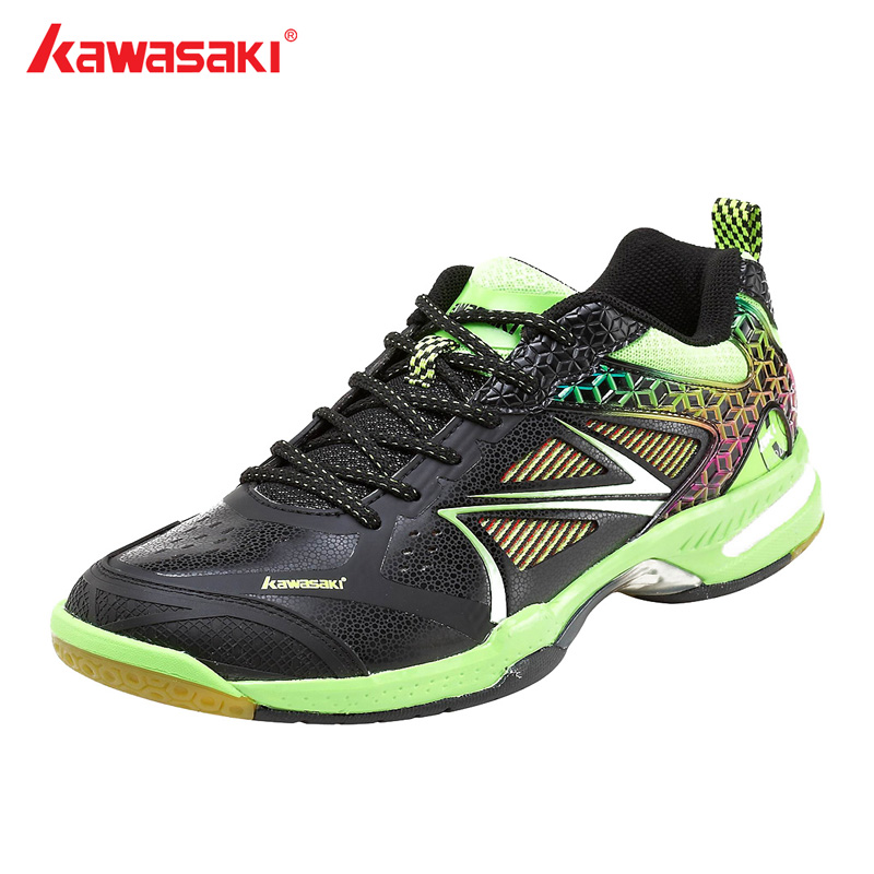 Original Kawasaki Brand Professional Badminton Sko Til Mænd Og Kvinder Multilayer Breathable Mesh Mens Atletic ShoesK-615 K-616