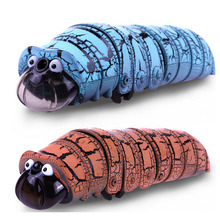 Making Fun RC toys Electric Recharge Remote Control Cute Caterpillar Animal Model Toys For Kids