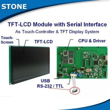 stone hmi tft color touch screen monitor with rs232 цена