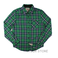 Winter Men's Plaid Check Flannel Shirt Classic Casual Button Down Long Sleeve Shirts