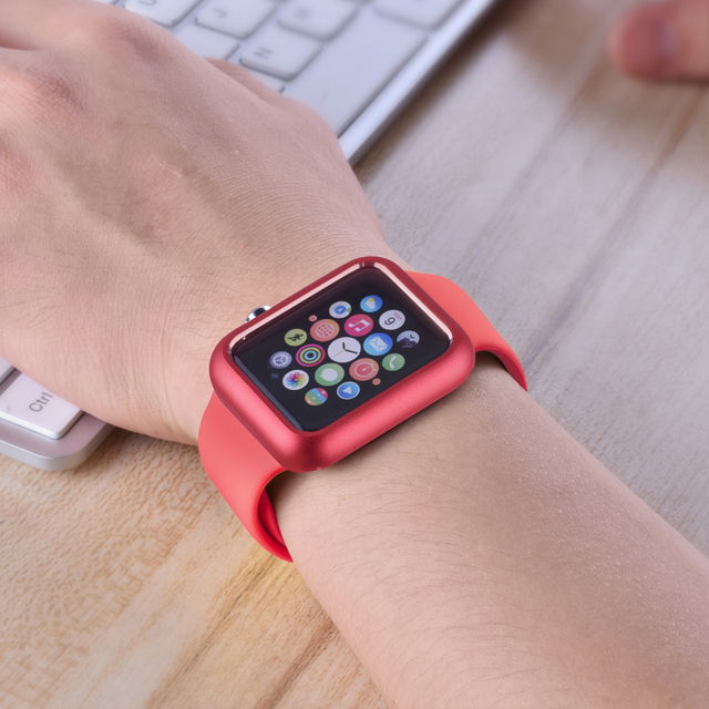 Magnetic Adsorption Case for Apple Watch 4