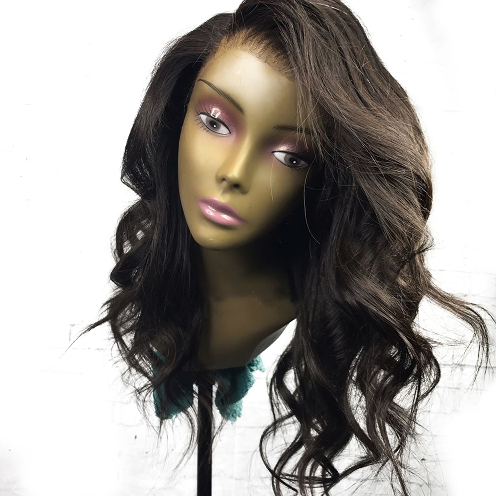 Eversilky Wigs Human-Hair-Wig Full-Lace Glueless Black-Women Bob Brazilian Short