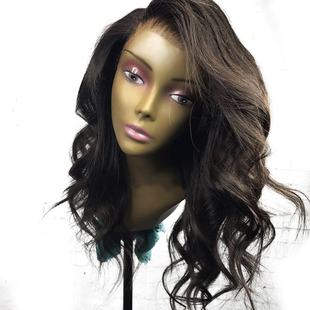 Eversilky Wavy Full Lace Human Hair Wigs Brazilian Remy Hair Glueless Short Bob Human Hair Wig With Baby Hair For Black Women