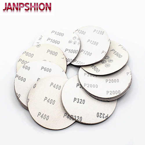 JANPSHION 40pc papel de lija de 7